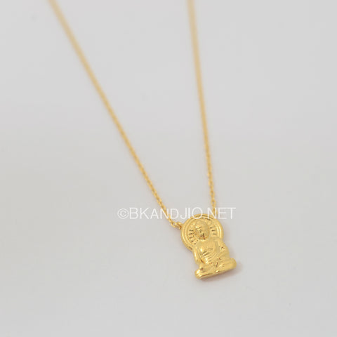 Buddha Statue Necklace