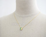 Chrysoprase Gemstone Necklace