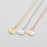CZ Fan Shaped Necklace