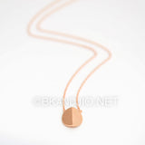Bent Circle Necklace