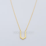 Pointed U Necklace