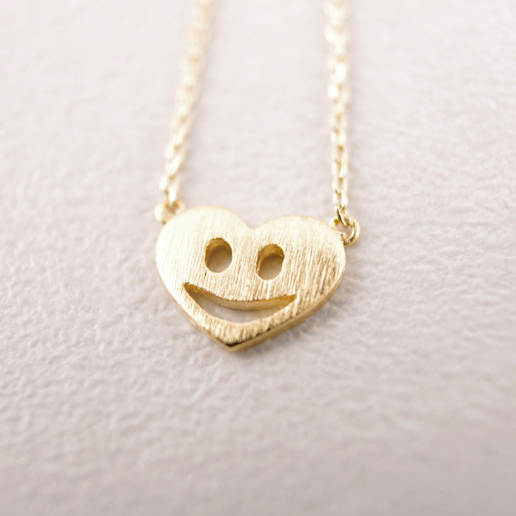 Smile in Heart Necklace
