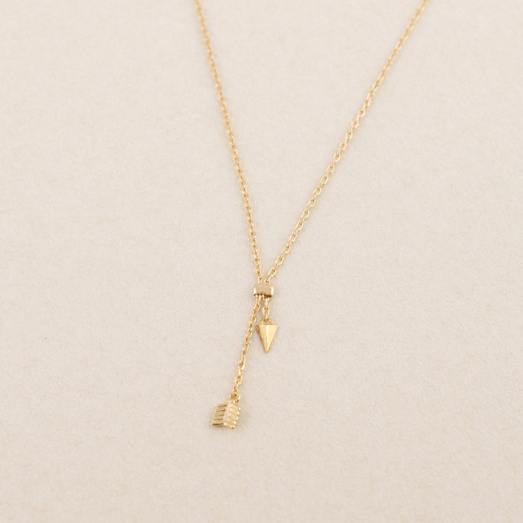 Chains Arrow Necklace