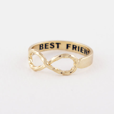 Twist Infinity Best Friends Ring