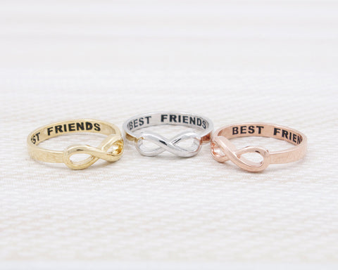 Infinity Best Friends Ring