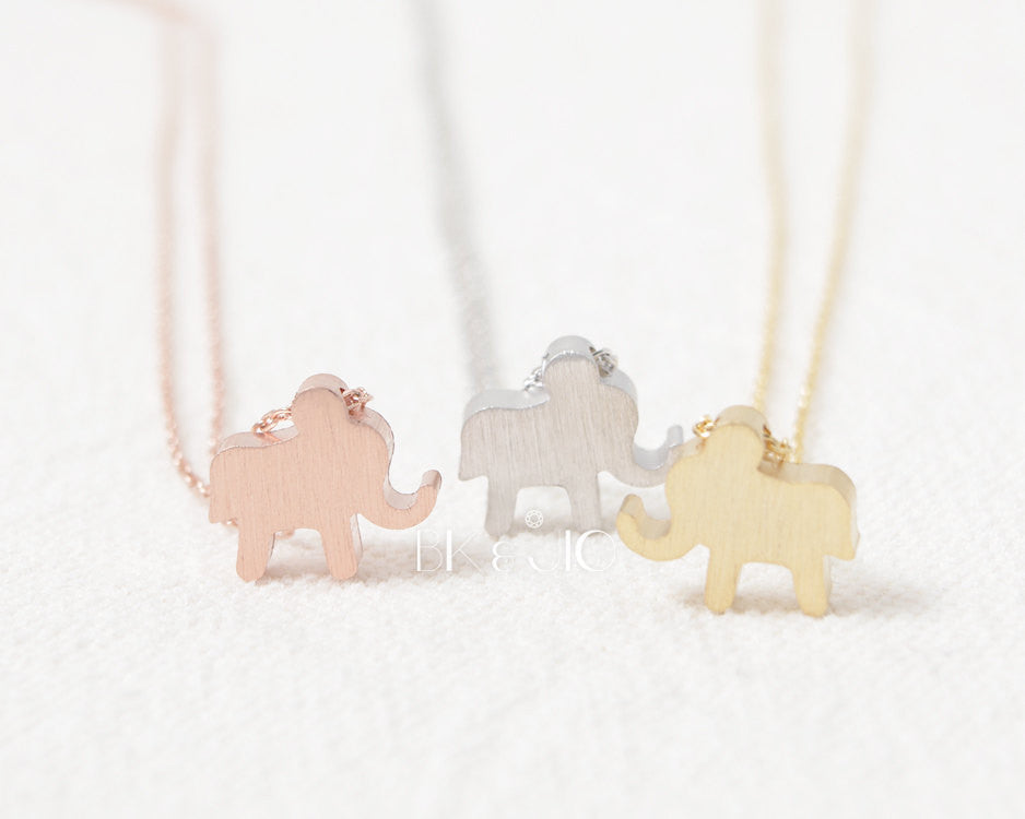 Elephant Shaped Necklace