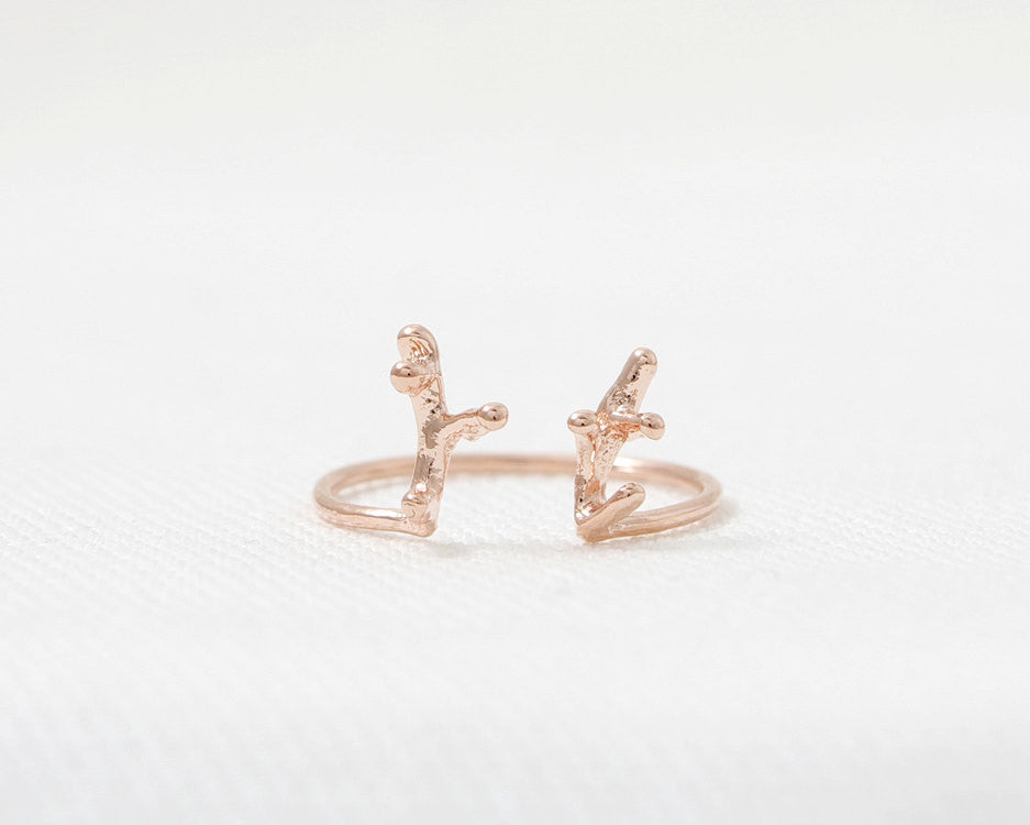 Short Antler Ring