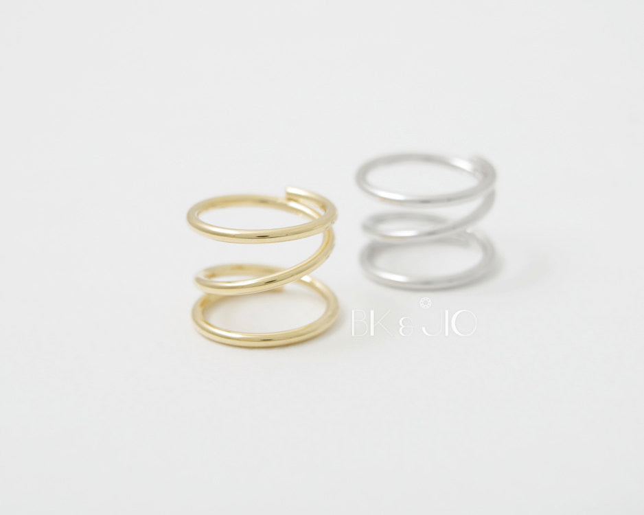 Wired Spring Knuckle Ring