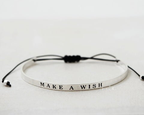 Make a Wish Bangle Bracelet