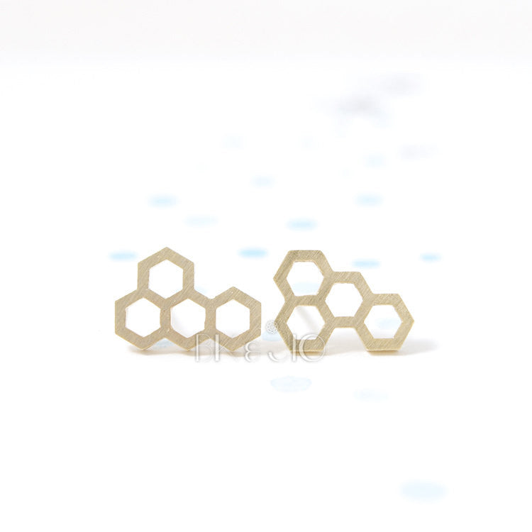 Hive Stud Earrings
