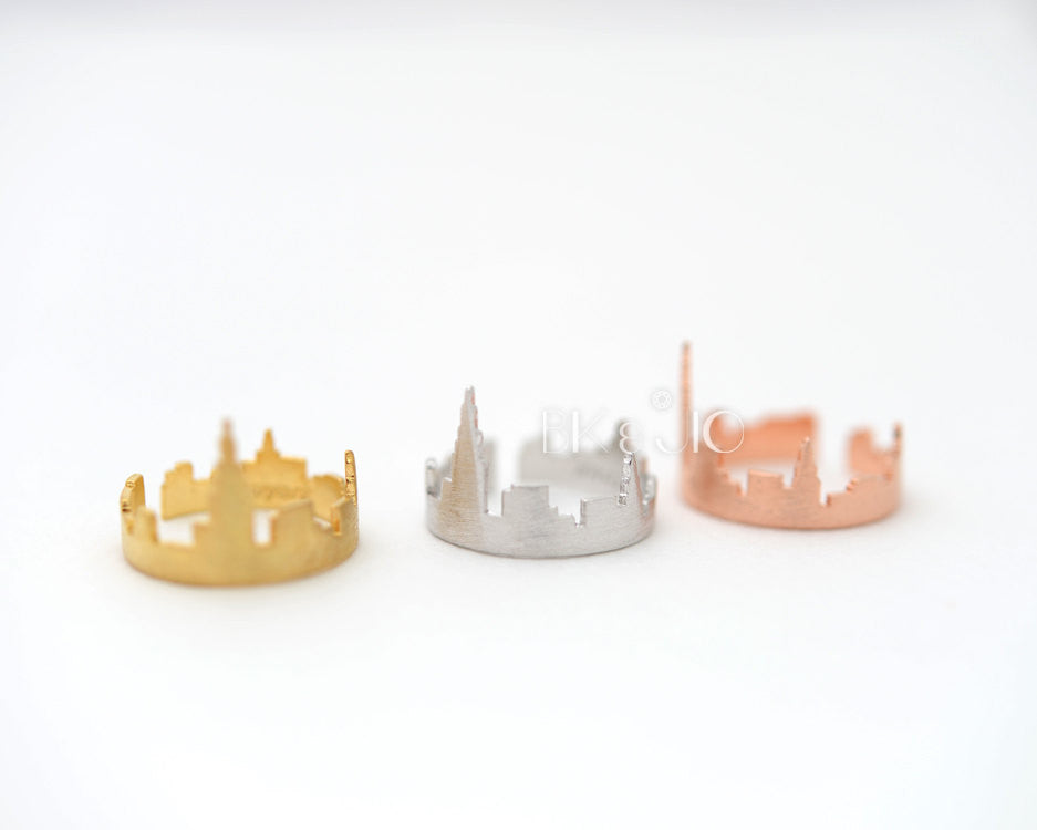 New York Skyline Ring