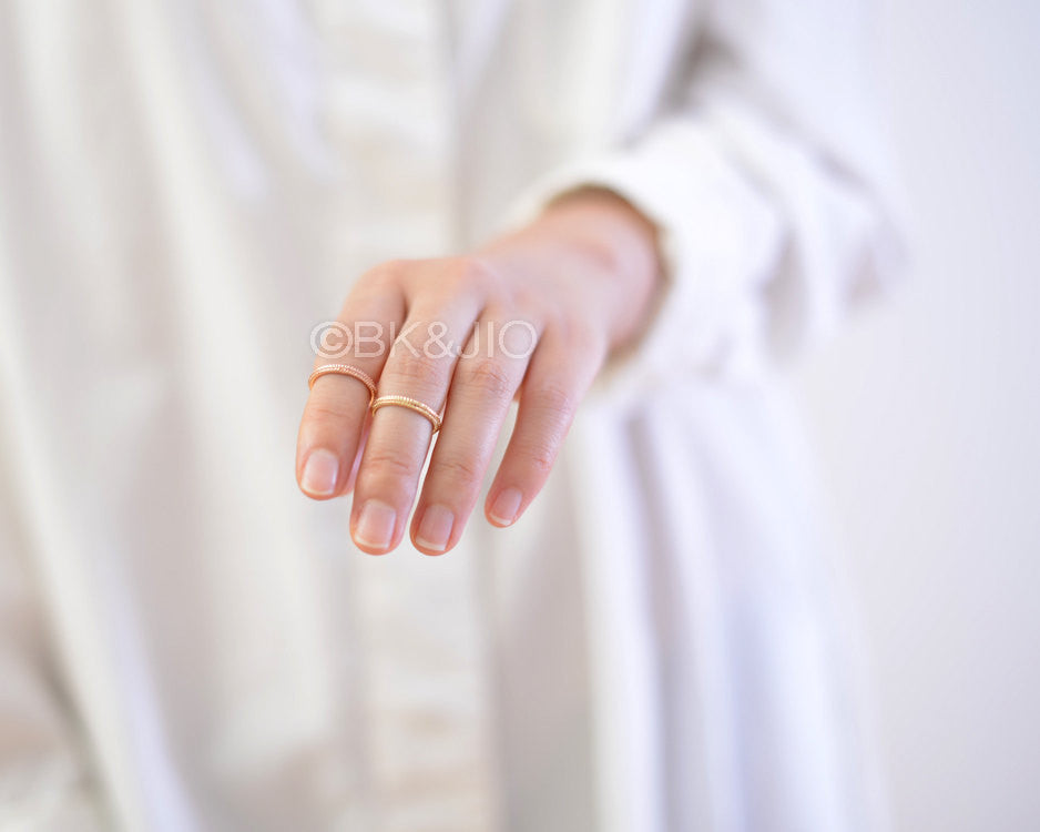 Textured Knuckle Ring