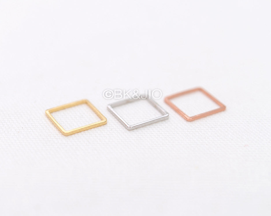 Flat Rectangle Knuckle Ring