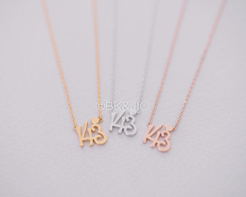 "143 ""I Love You"" Necklace"