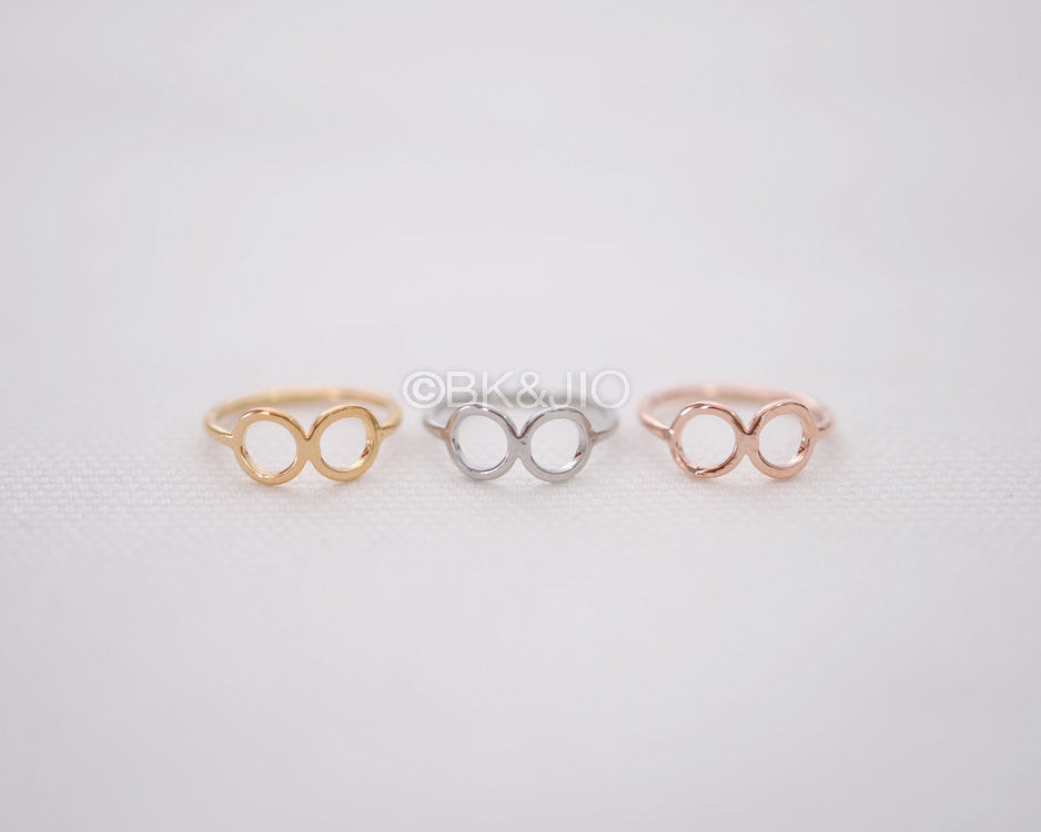 Round Infinity Knuckle Ring