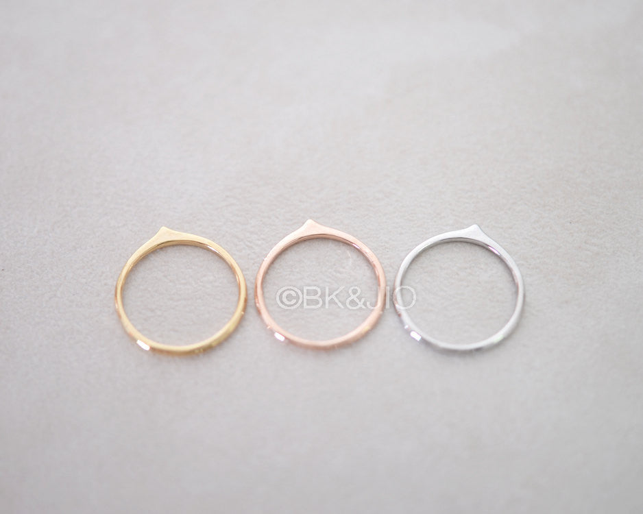 Drop Oval Ring