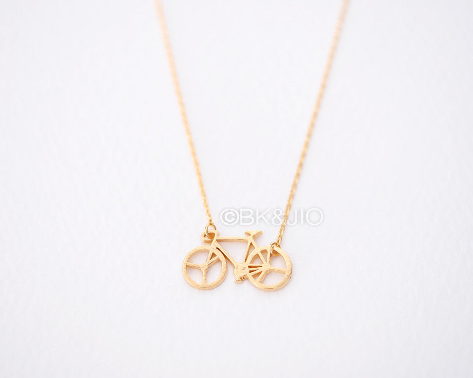 Fixed Bike Necklace