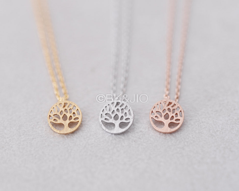 Tiny Tree Necklace