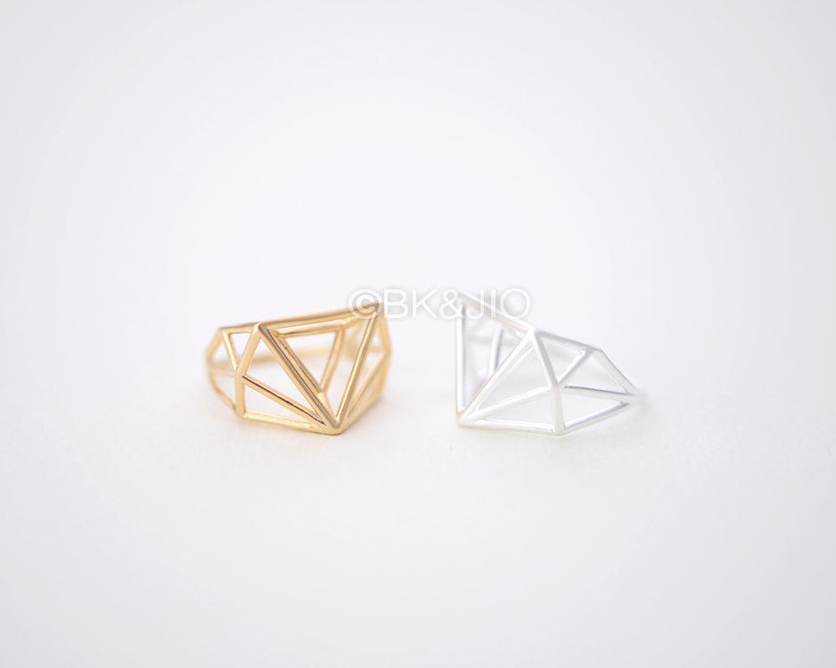 Triangle Structure Ring