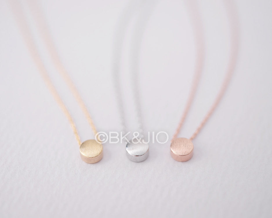 Padded Dot Necklace