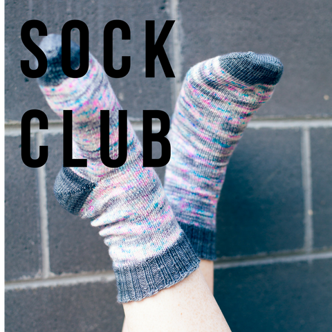 2018 Sock Club Monthly
