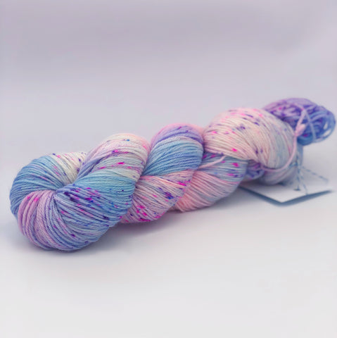 Polly Pocket superfine merino 4ply fingering