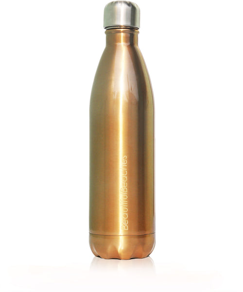 Insulated Drink Bottle Gold 750ml