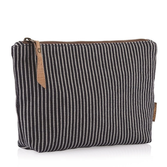 Organic Cotton Travel Zip Pouch