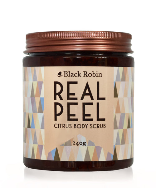 Black Robin Real Peel Citrus Body Scrub