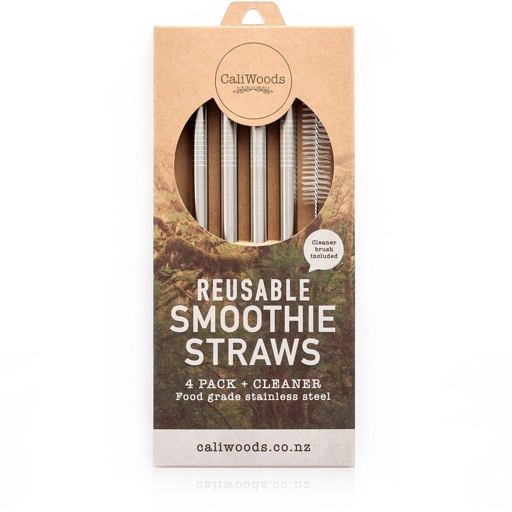 Reusable Smoothie Straws 4pk