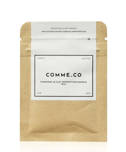 Comme.co Charcoal & Clay Detoxifying Masque