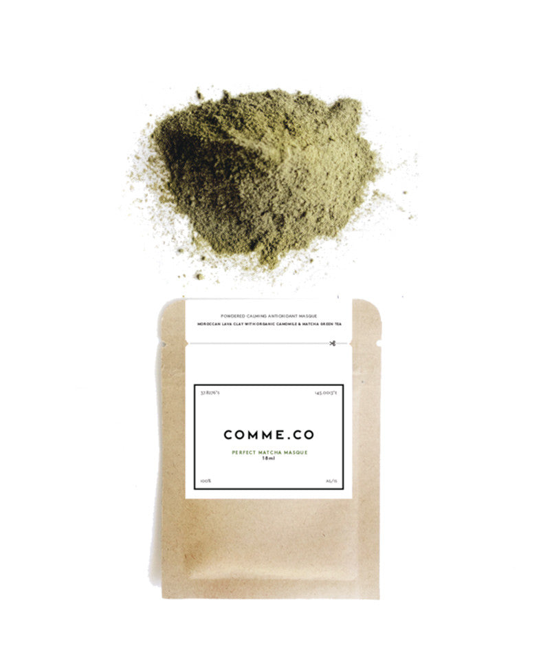 Comme.co Perfect Matcha Masque