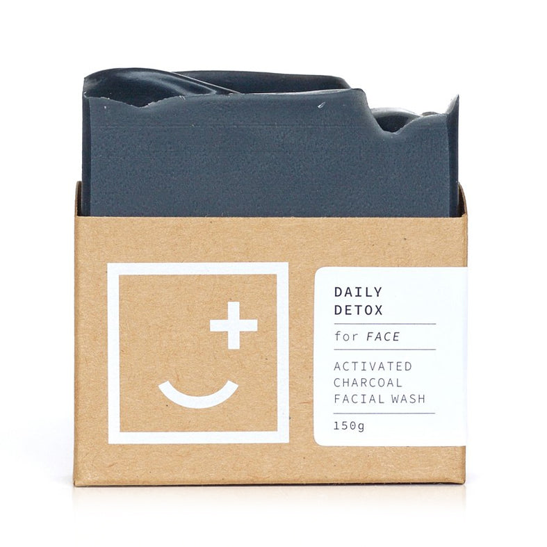 Fair & Square Daily Detox Face and Body Bar