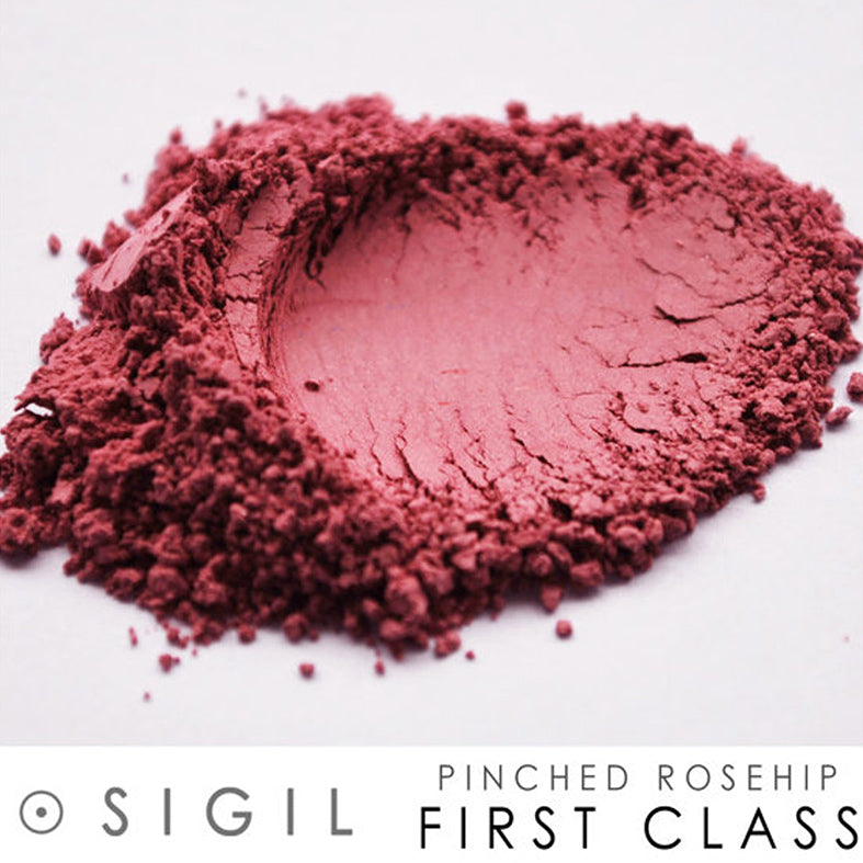 Pinched Rosehip Powder Blush First Class