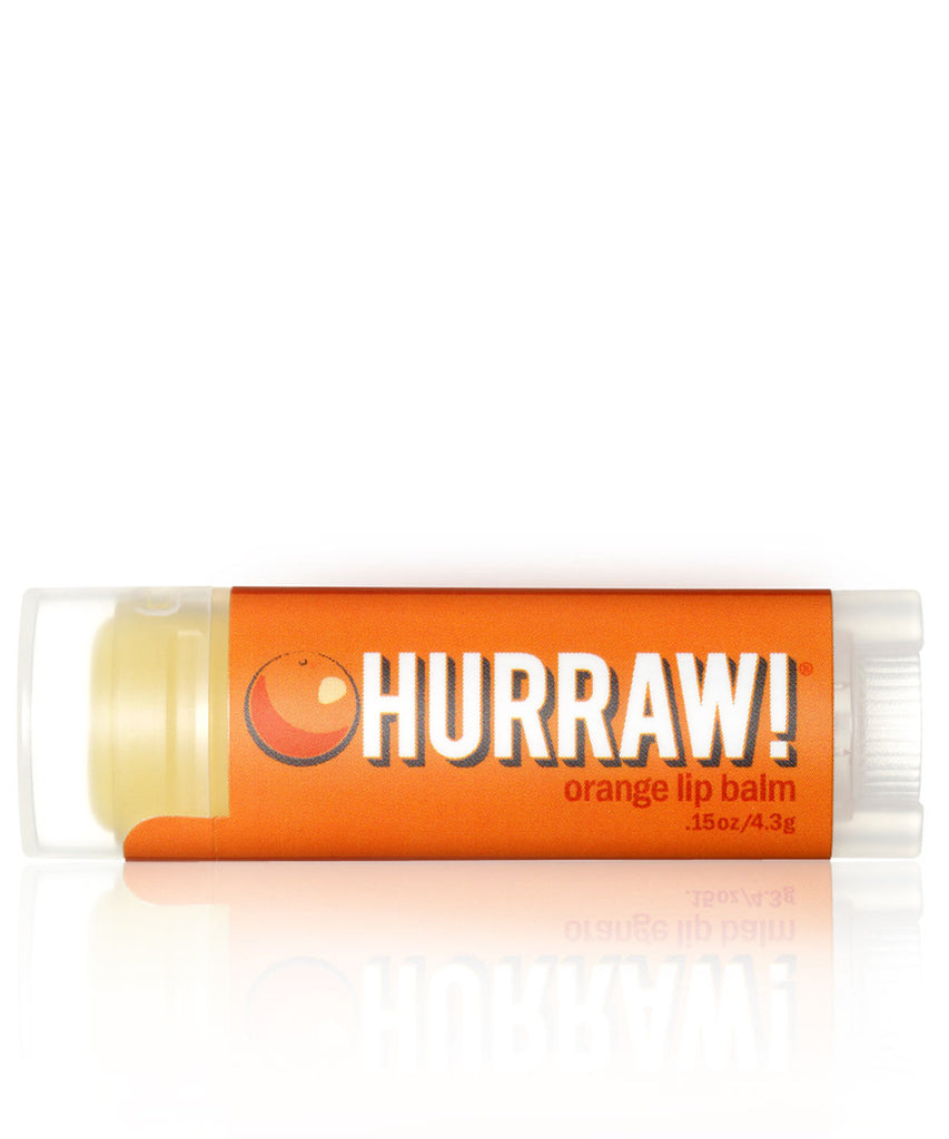 Hurraw! Orange Lip Balm