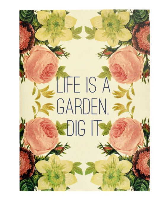 Hydrangea Ranger Greeting Card  Life is a Garden