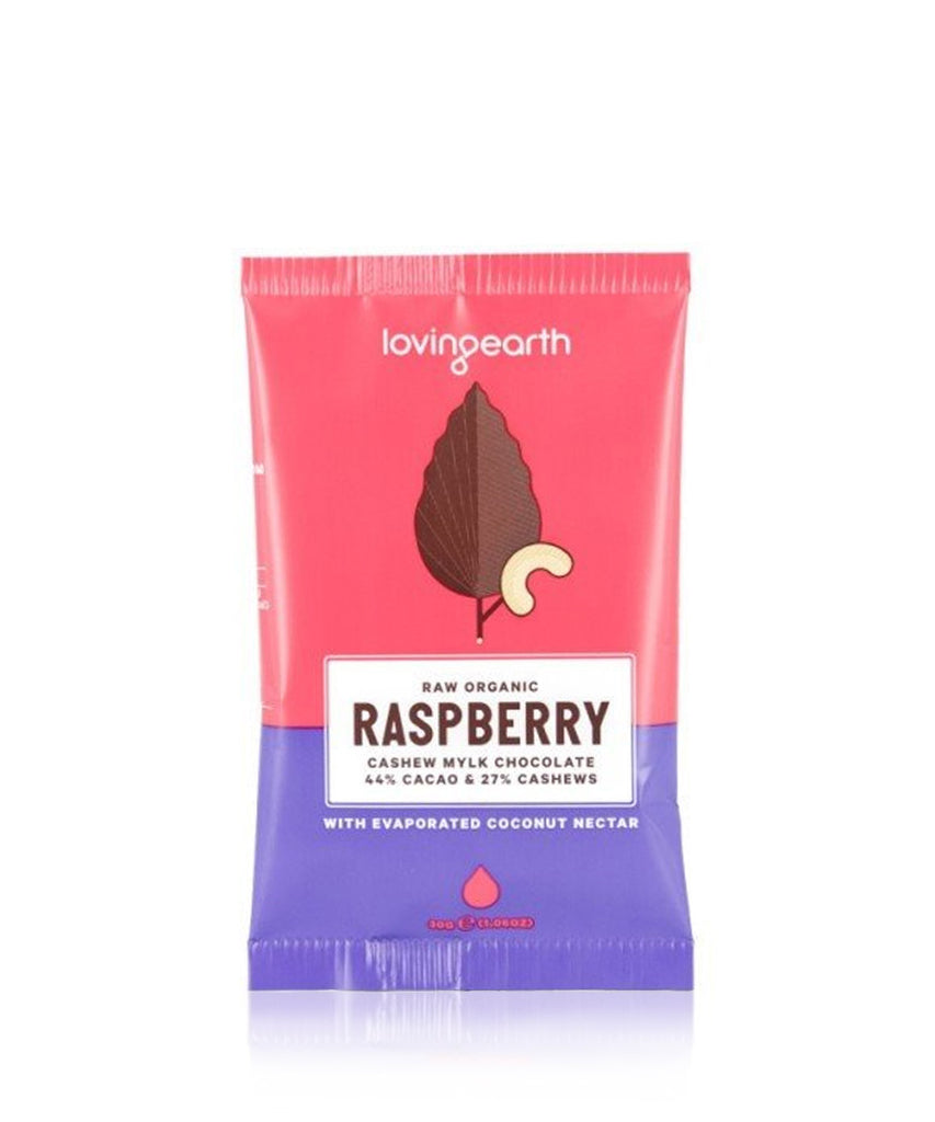 Loving Earth Raw Chocolate - Raspberry