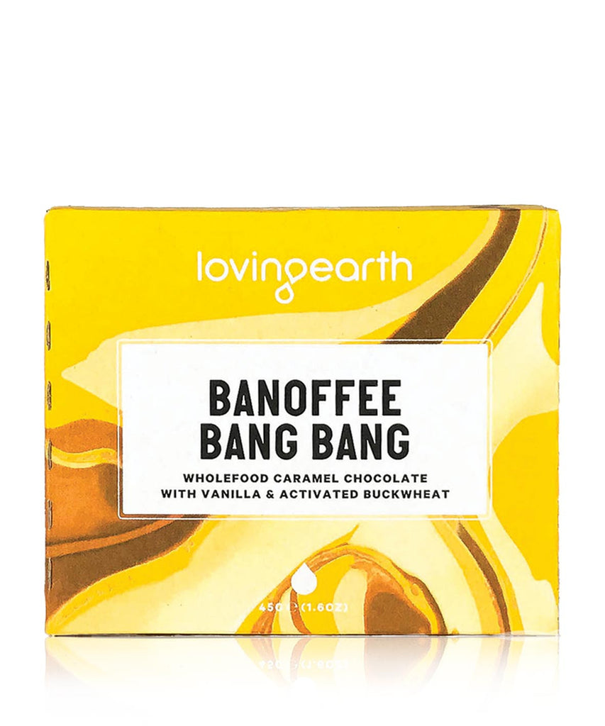 Loving Earth Raw Chocolate - Banoffee Bang Bang