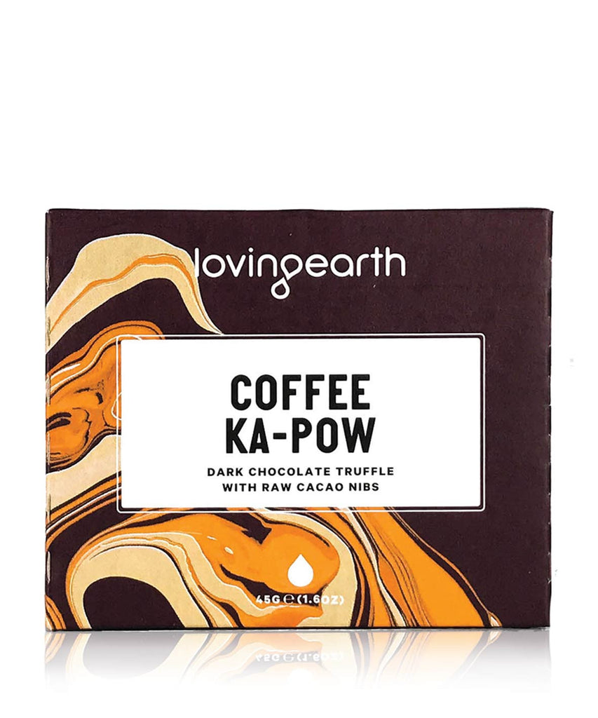 Loving Earth Raw Chocolate - Coffee Ka-Pow