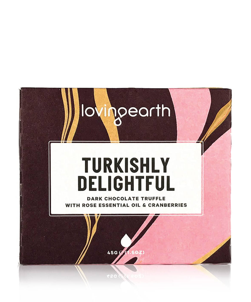 Loving Earth Raw Chocolate - Turkishly Delightful