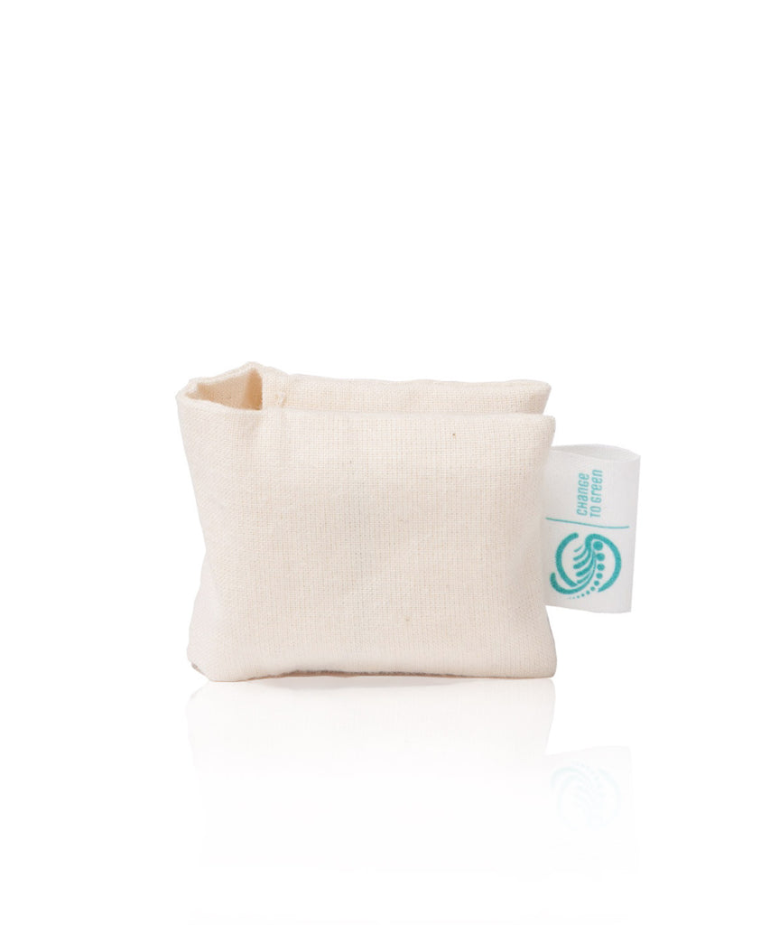 Change To Green Organic Cotton Tampon Pocket