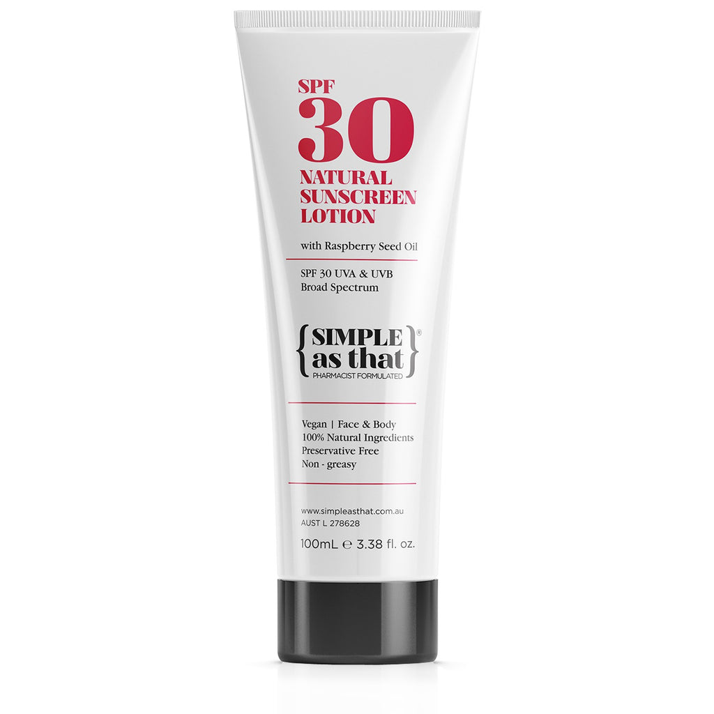 SPF30 Natural Sunscreen Lotion