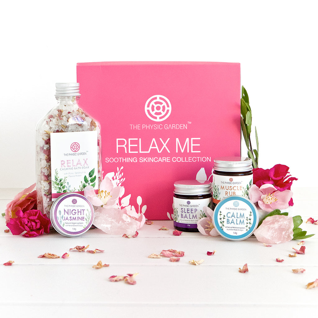 Relax Me Soothing Natural Skincare Gift Set