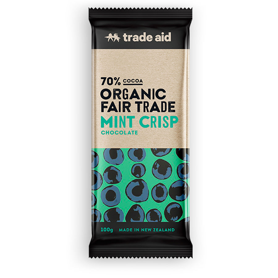 Mint Crisp Dark Chocolate