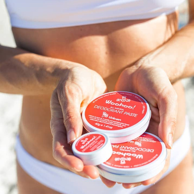 Urban All Natural Deodorant Paste