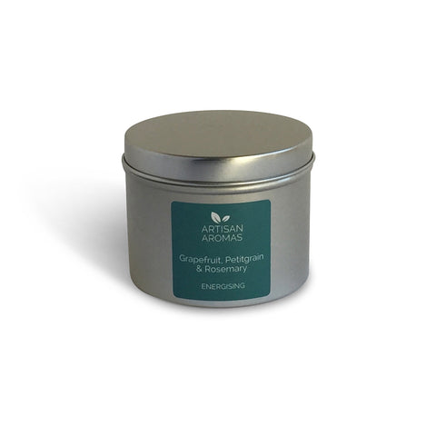 Energising travel candle