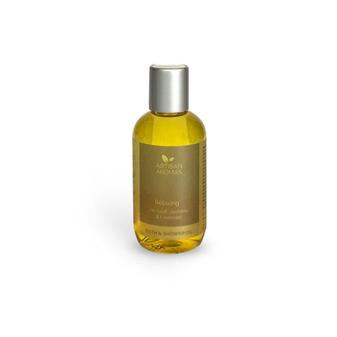 Relaxing bath & shower oil