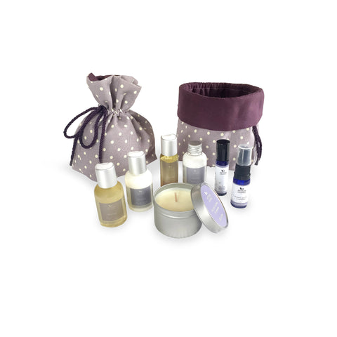 Relaxing gift set - Ho Leaf, Jasmine and Lavender