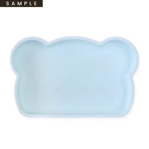 Bear Silicone Plate . Blue (SAMPLE)