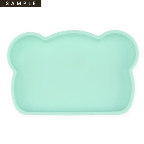 Bear Silicone Plate . Mint (SAMPLE)